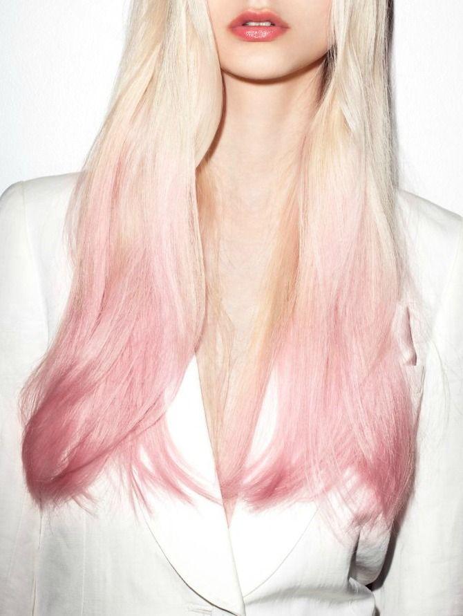 El toque rosado en pieles claras queda particularmente elegante.