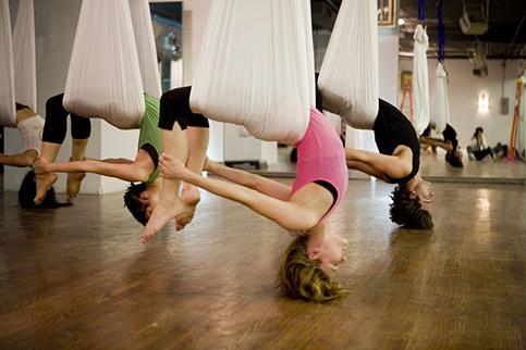 1- aerial yoga brusher