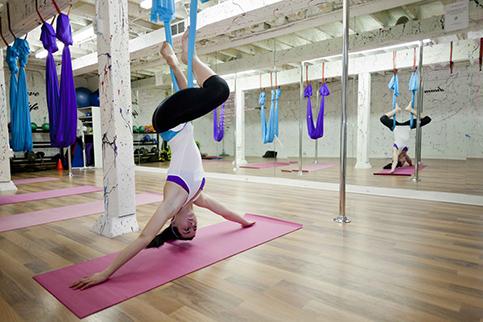 2 - aerial yoga