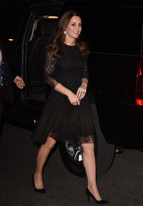The Duke and Duchess of Cambridge attend a Private Dinner