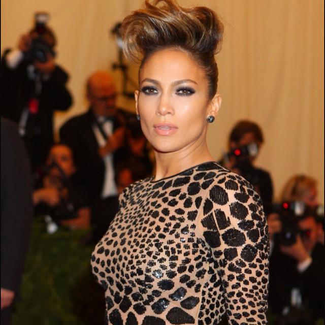 Jennifer Lopez makeup maquillaje