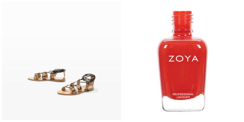 El rojo va con todo: ¡Anímate a usarlo en el día a día! Combínalo con unas sandalias planas y tendrás un look completo.