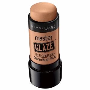 Maybelline y u línea Master Glaze tienen este rubor en crema aportan un tono suave, fácil de distribuir y con un brillo único.