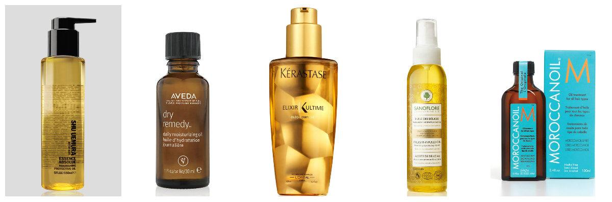 Las revocaciones sobre el medio para los cabellos la seda de oro