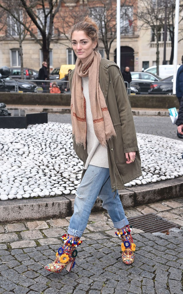 PARIS, FRANCE - MARCH 09: Sofia Sanchez de Betak attends the Miu Miu show as part of the Paris Fashion Week Womenswear Fall Winter 2016/2017 on March 9, 2016 in Paris, France. (Photo by Jacopo Raule/GC Images)