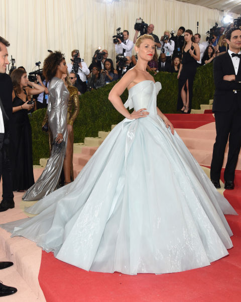 Claire Danes en Zac Posen modificado