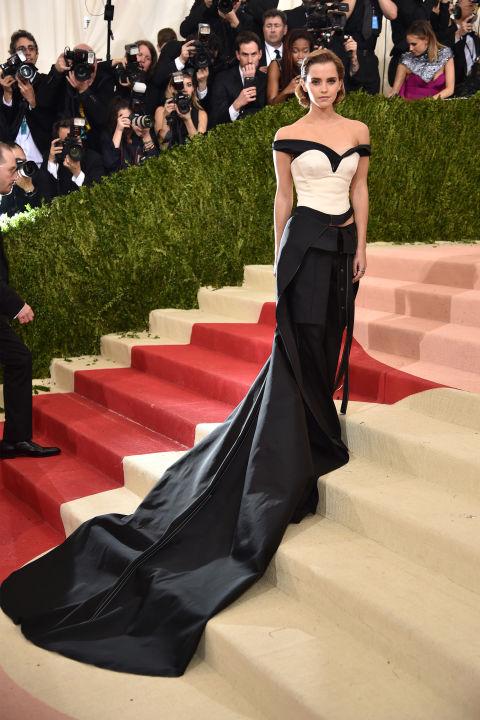 Emma Watson en Calvin Klein Collection