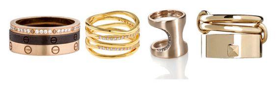 Cartier; Accesorize; Polina Sapouna; Valentino Garavani.