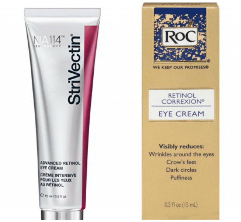StriVectin-AR Advanced Retinol Eye Treatment; Roc Retinol Correxion Eye Cream