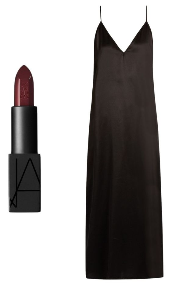 Labial Nars. Vestido Matches Fashion.