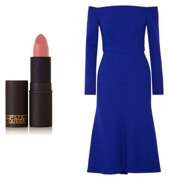 Labial Lipstick Queen. Vestido Lela.