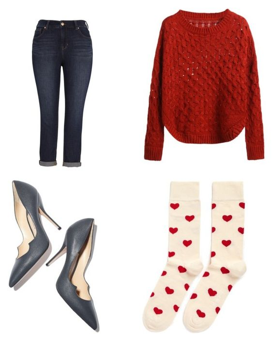 Vaquero Melissa McCarthy; sweater SheIn; zapatos Paul Andrew; calcetines Lance Crawford.