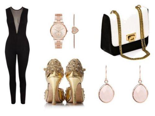 Mono Nly One; reloj Michael Kors; zapatos Etsy; bolso Jacinta Cross; pendientes Pop Map.