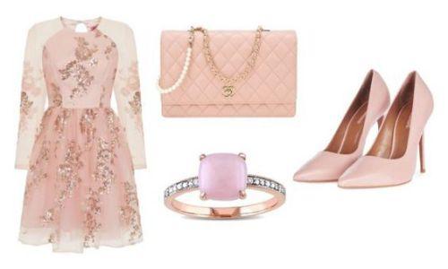 Vestido Dorothy Perkins; bolso Chanel; anillo Miadora; zapatos Topshop.
